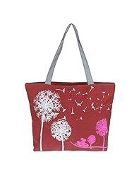 Color Scissor Womens Casual Style Canvas Shoulder Handbag Top-Handle Bags Tote Girl's Purse