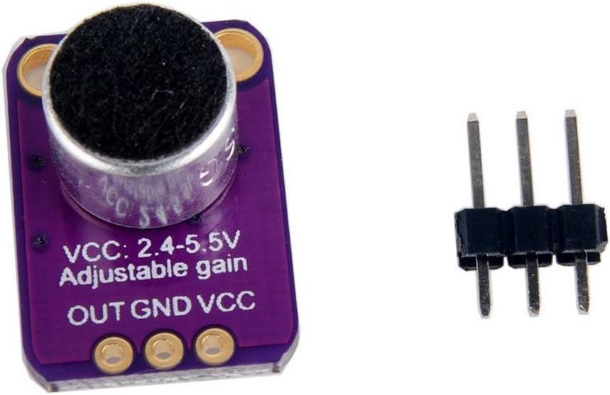 TOOGOO GY-MAX4466 Elektret Mikrofon Verstaerker Sensor mit einstellbarer Verstaerkung