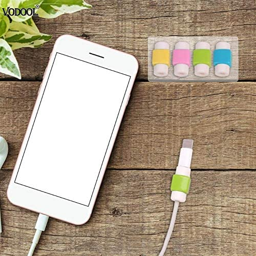 Lysee Cable Winder MIni Cable Wire Protector Saver Earphone Cord Protection Wire Cover USB Cable Protector Winding Mobile Phone Charger Data Line