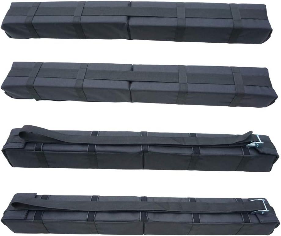 Amazon.com: RORAIMA - Juego de 2 soportes de techo para ...