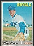 1970 Topps Billy Harris Royals Baseball Card #512