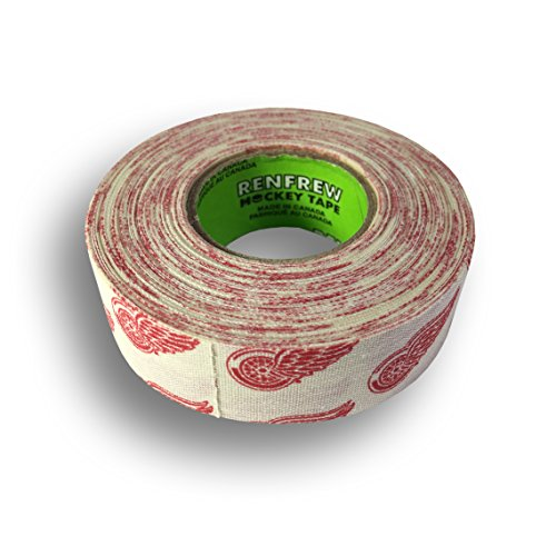 fan products of Renfrew, NHL Team Cloth Hockey Tape (Detroit Red Wings)