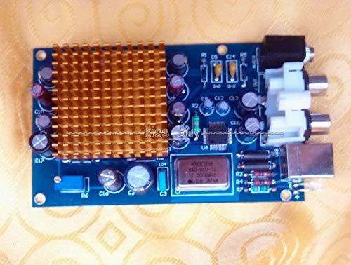 DP-iot HiFi 6X TDA1543 Parallel Fever Audio Decoder DAC PC USB External Sound Card