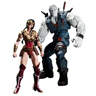 DC Collectibles Injustice Wonder Woman vs. Solomon Grundy Action Figure, 2-Pack
