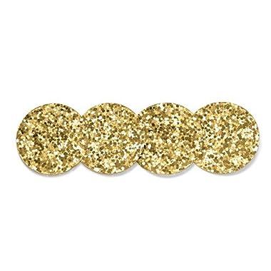 kate spade new york Coaster Set,Gold Glitter