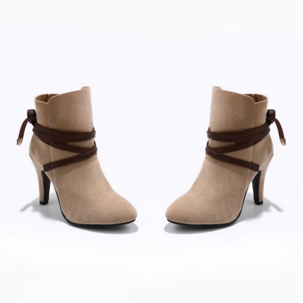 RAZAMAZA Women Fashion Boots High Heel