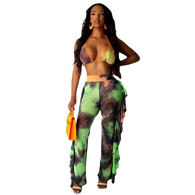 Amazon.com: ECHOINE traje de baño sexy de playa para mujer ...