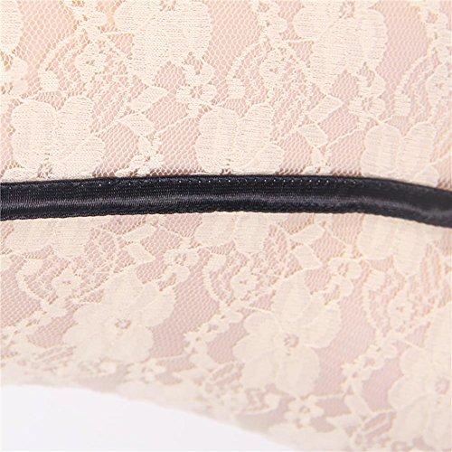 Myhope indietro Babydoll Size Tentazione Camicia Camicia Lingerie Bretelle Plus Rugiada RRFxrq8