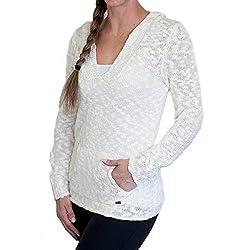 Roxy Womens Roxy Warm Heart - Sweater - Women - S - Beige Lark S