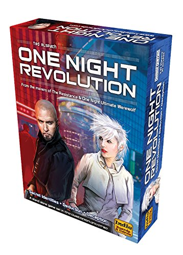 Indie Boards & Cards One Night Revolution Card Game by Indie Boards & Cards
