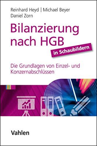 Bilanzierung nach HGB in Schaubildern: Die Grundlagen von Einzel- und Konzernabschlüssen