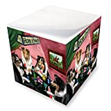 Home of Shelties 4 Dogs Playing Poker Note Cube