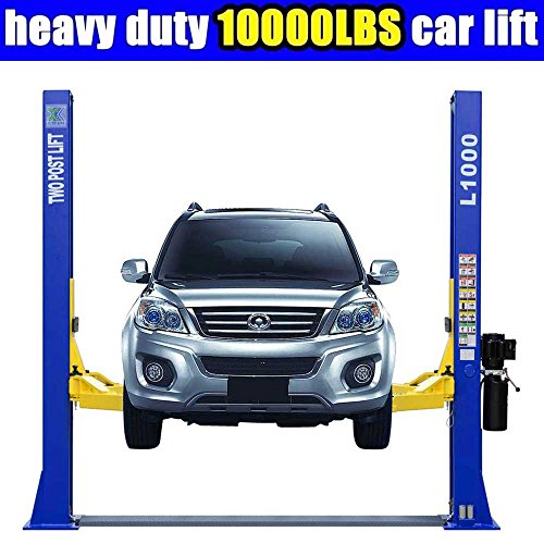 Lift Post (L1000 10,000LBS Two Post Lift Car Auto Truck Hoist / 12 Month Warranty)