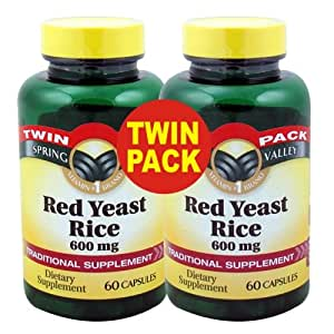 Amazon.com: Spring Valley - Red Yeast Rice 600 mg, 120