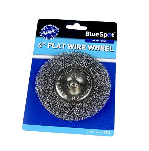 Blue Spot 19213 4-inch Flat Wire Wheel
