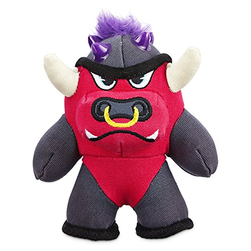 Leaps & Bounds Tough Plush Bull Dog Toy, Small