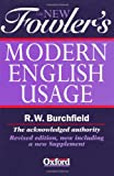 Fowler's Modern English Usage (3rd Revised Edition)