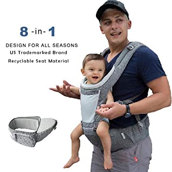 Activity & Gear 2019 New Style Bethbear 3 In 1 Hipseat Ergonomic Baby Carrier 0-36 Months Buckle Comfortable Mesh Wrap Infant Sling Backpack For Baby Kids Mother & Kids