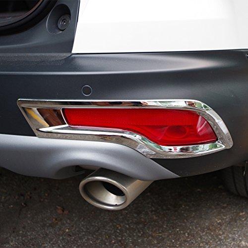 - Kust wdz71107w Car Fog Light Covers,Rear Fog Light Kit for Cars Fit for Honda 2017 Crv Trim,Pack of 1 Pair of Chrome Trim Fit for Honda Fog Lights