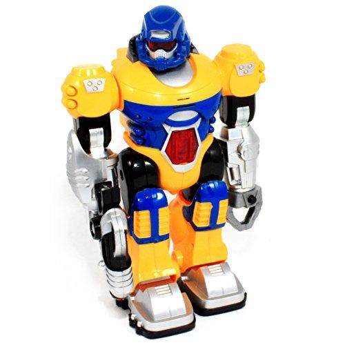 yellow robot toy - 3