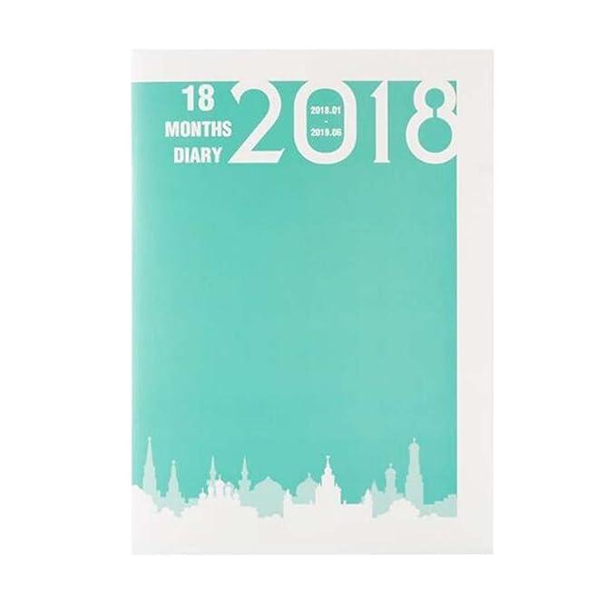 Calendario 2018 Cuaderno Agenda Libro Cuaderno de negocios ...