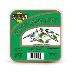 Audubon Park 1846 Nutty Treat Suet Cake, 11.75-Ounce Outdoor, Home, Garden, Supply, Maintenance
