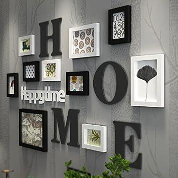 WGL Home Dekoration Wohnzimmer Schlafzimmer Feste Holz Foto Wand Fotorahmen  Wand Bilderrahmen Hängende Wand Kombination Von