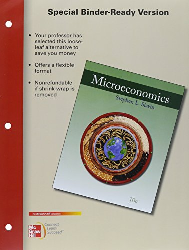 Loose Leaf Microeconomics with Connect Plus