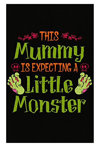 Ginial Wear Halloween Baby Expecting Announcement This Mummy Pregnant - Poster]()