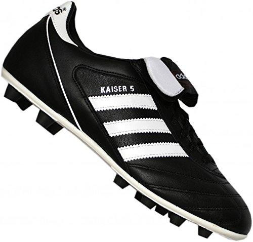 adidas Kaiser 5 Liga, Botas de Fútbol para Hombre Negro, blanco y rojo