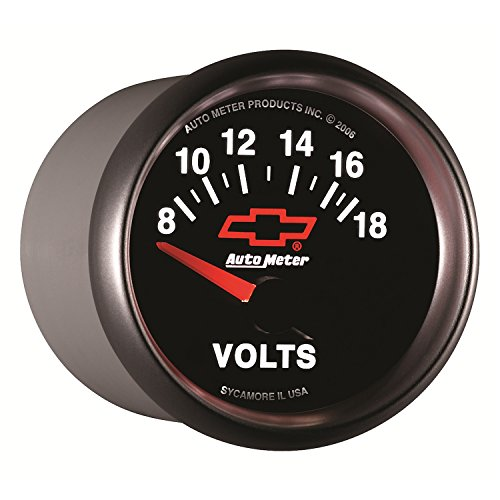 00406 Gauges (Auto Meter 3692-00406 GM Performance Parts Red 2-1/16