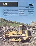 1989 Caterpillar 973 Crawler Loader Sales Brochure