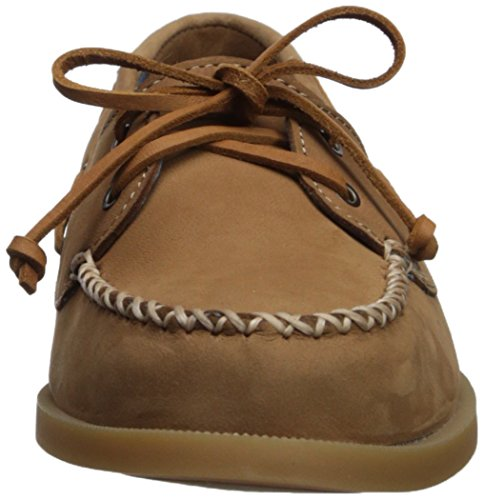 Medium Tan 5 o Women's Shoe Us Sperry 5 sider Boat Top Leather Venice A SqS4W6zwU