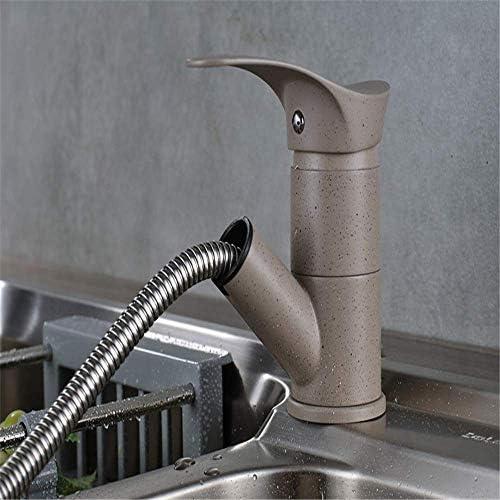 HXC-HXC 流域の蛇口浴室の蛇口ゴールデンキッチンのシンクの蛇口のミキサーのタップのプルダウンシングルハンドル単穴キッチン蛇口浴室の蛇口 蛇口