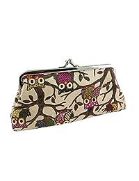 Wallet; Purse;Wallet Purse-Bessky® New Fashion Women Lovely Style Lady Wallet Hasp Owl Purse Clutch Bag (Khaki)