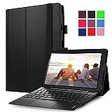 "Lenovo MIIX 310 Case, Pasonomi® Premium PU Leather Folio Case Stand Cover for Lenovo Miix 310 10.1"" tablet (Black)"