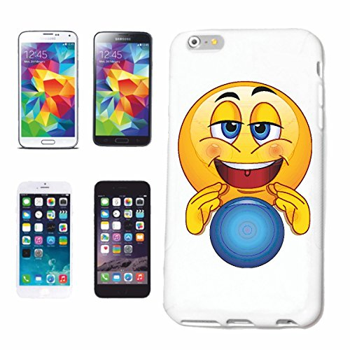 "cas de téléphone iPhone 7 ""MAGGIE SMILEY AVEC BOULE DE VERRE ""SMILEYS SMILIES ANDROID IPHONE EMOTICONS IOS grin VISAGE EMOTICON APP"" Hard Case Cover Téléphone Covers Smart Cover pour Apple iPhone en b"