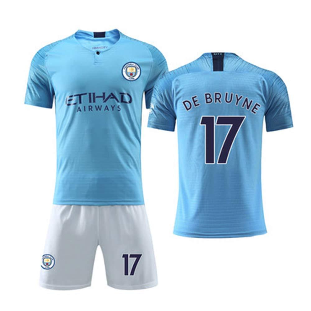 Manchester City Short SleeveSport Maillots T-Shirt A-XXXS YANZZ Kevin De Bruyne#17 Jersey Homme Footbal