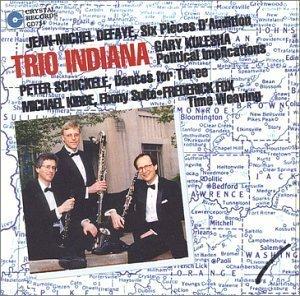 Trio Indiana by Trio Indiana, James Campbell, Eli Eban, Howard Klug, David Shea (1994-07-05)