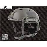 Military Paintball Airsoft Helmet Combat Tactical FAST Helmet Base Jump Type FG