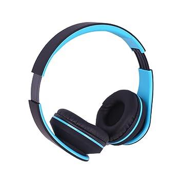 Auriculares Bluetooth de alta fidelidad, auriculares inalámbricos, plegables, suaves de proteína de memoria