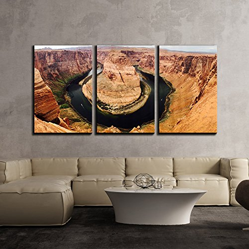 Horseshoe Bend Arizona x3 Panels