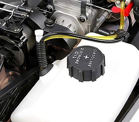MZL Monster Truck Coche Remoto por Equipado con un Motor Fijo de Gasolina de 32 Puntos y Cuatro Cilindros, refrigerado por Aire, de Dos Tiempos, ...