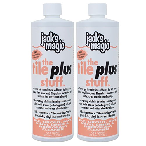 Jack's Magic The Tile Plus Stuff (1 qt) (2 pack)