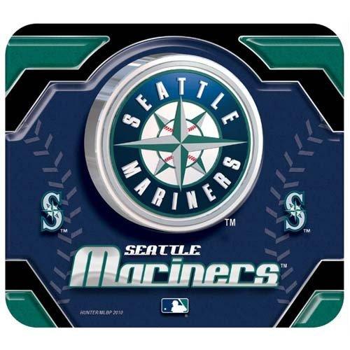 MLB Seattle Mariners Team Logo Neoprene Mousepad