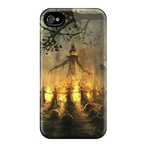 linJUN FENGFaddish Phone Halloween Gathering Case For Iphone 4/4s / Perfect Case Cover