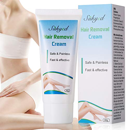 Hair Removal Cream,Depilatory Cream, Women Mens Painless Flawless Fast for Body Underarms Legs Bikini Area Skin Hair Remover Cream