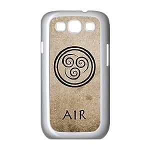 Doah Avatar Last Airbender Air Samsung Galaxy S3 Cases for Guys, Case for Samsung Galaxy S 3 Phone [White]
