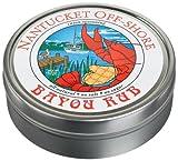 Nantucket Off-Shore Bayou Rub, 2.5-Ounce Tins (Pack of 6)