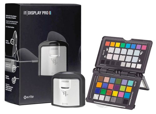 - X-Rite i1 Display Pro and ColorChecker Passport Bundle - Black (EODIS3CCPP)